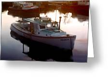 Tranquil Harbor Greeting Card