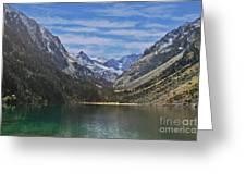 Tranquil Mountain Lake Greeting Card
