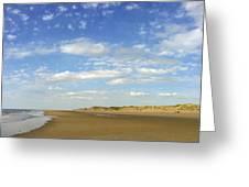 Tranquil Seashore Greeting Card