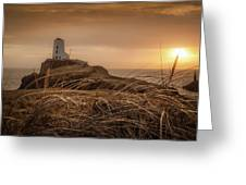 Tranquil Sunset At Llanddwyn Island - Anglesey, North Wales Greeting Card