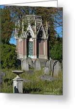 Tranquil Tomb Greeting Card