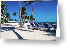 Tranquility Bay Beach Paradise Greeting Card