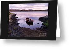 Tranquility In County Galway Greeting Card