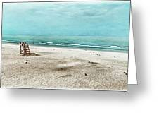 Tranquility On Tybee Island Greeting Card