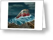 Trans Europe Express Greeting Card