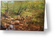 Transcarpatien Landscape Greeting Card