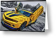 Transformers Bumble Bee 2 Greeting Card