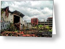 Apocalypse Detroit 2 Greeting Card