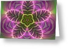 Transition Flower Greeting Card