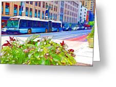 Transportation In New York 4 Greeting Card