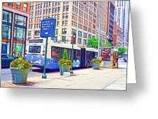 Transportation In New York 6 Greeting Card