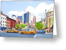 Transportation In New York 8 Greeting Card