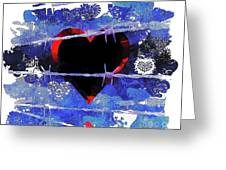 Trapped Heart Greeting Card
