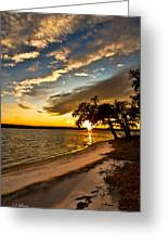 Trapped Sunset Greeting Card