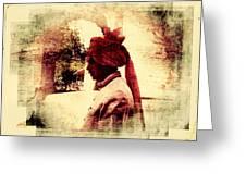Travel Exotic Headgear Waiter Portrait Mehrangarh Fort India Rajasthan 2a Greeting Card