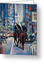 Travel Notebook. New York. Third Day Greeting Card