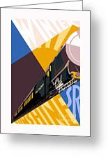 Travel South For Winter Sunshine Greeting Card