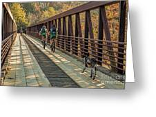 Travel The Buttermilk Trail Greeting Card
