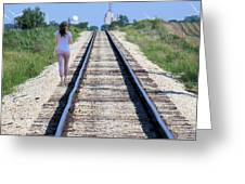 Travel With A Purpose  Greeting Card