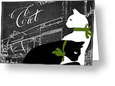 Travel With Your Cat Greeting Card