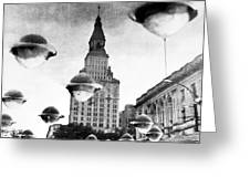 Travelers Insurance Tower Greeting Card