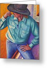 Travelin Man Greeting Card