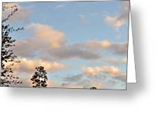 Traveling Clouds Greeting Card