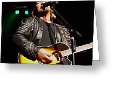 Travis Tritt Country Music Singer Greeting Card