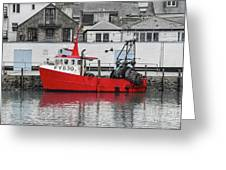 Trawler Fy 830 Atlantis Greeting Card