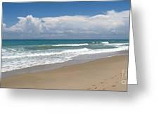Treasure Coast Beach Florida Seascape C4 Greeting Card