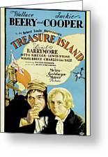 Treasure Island 1934 Greeting Card