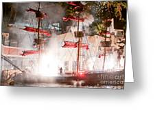 Treasure Island Flashes Greeting Card