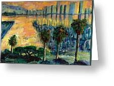 Treasure Island Sunset Greeting Card