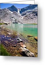 Treasure Lake 3 Rocky Shoreline Greeting Card