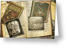 Treasured Objects Greeting Card