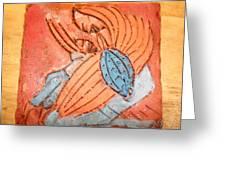 Treasures - Tile Greeting Card