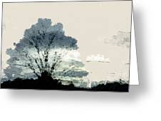 Tree Along The Way Greeting Card