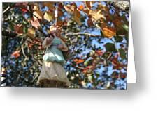 Tree Angel Greeting Card