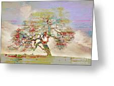 Tree Art 54tr Greeting Card