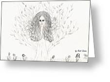 Tree Beauty Greeting Card