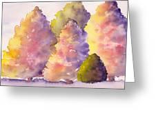 Tree Family Greeting Card