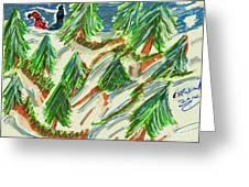 Tree Farm Greeting Card