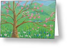 Tree For Two Greeting Card