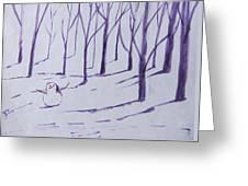 Tree Friends Greeting Card