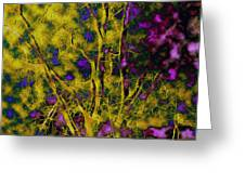 Tree Glow Greeting Card