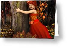 Tree Hug Greeting Card