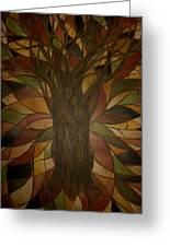 Tree Huggers Greeting Card