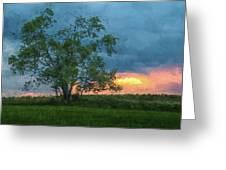 Tree Impression Greeting Card
