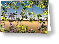 Tree Leaves Greeting Card