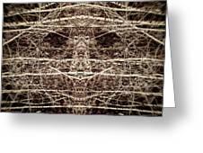 Tree Mask Greeting Card